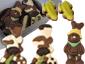 Conj. 11 Figuras de Chocolate, 84 g - 0000003396